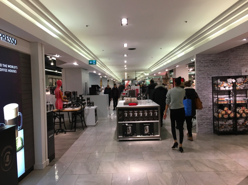 SLIDESHOW: Concourse level at Hudson's Bay Queen Street in Toronto