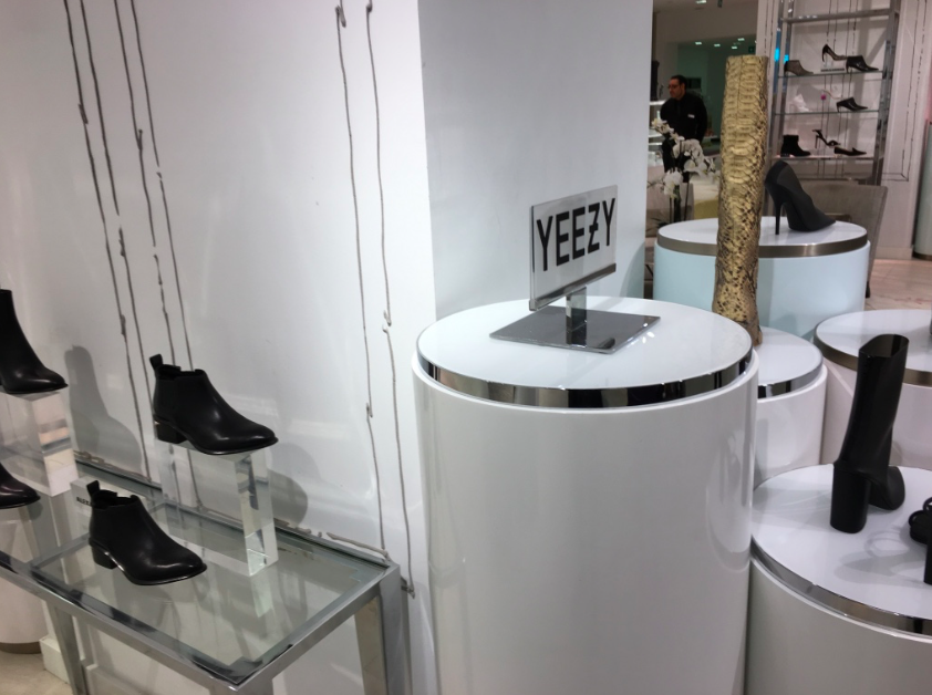 Yeezy is one of the brands featured in 'The Room shoes'