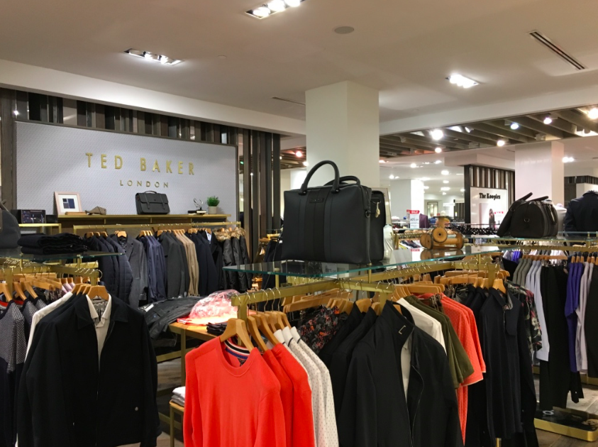 Ted Baker shop-in-store.