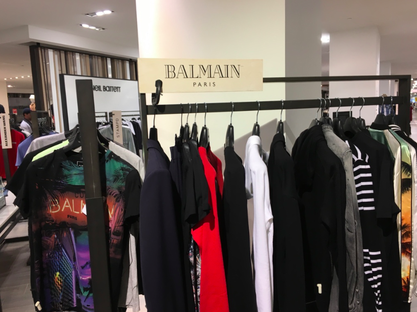SLIDESHOW: 5th floor men's store (including some significant luxury brands)