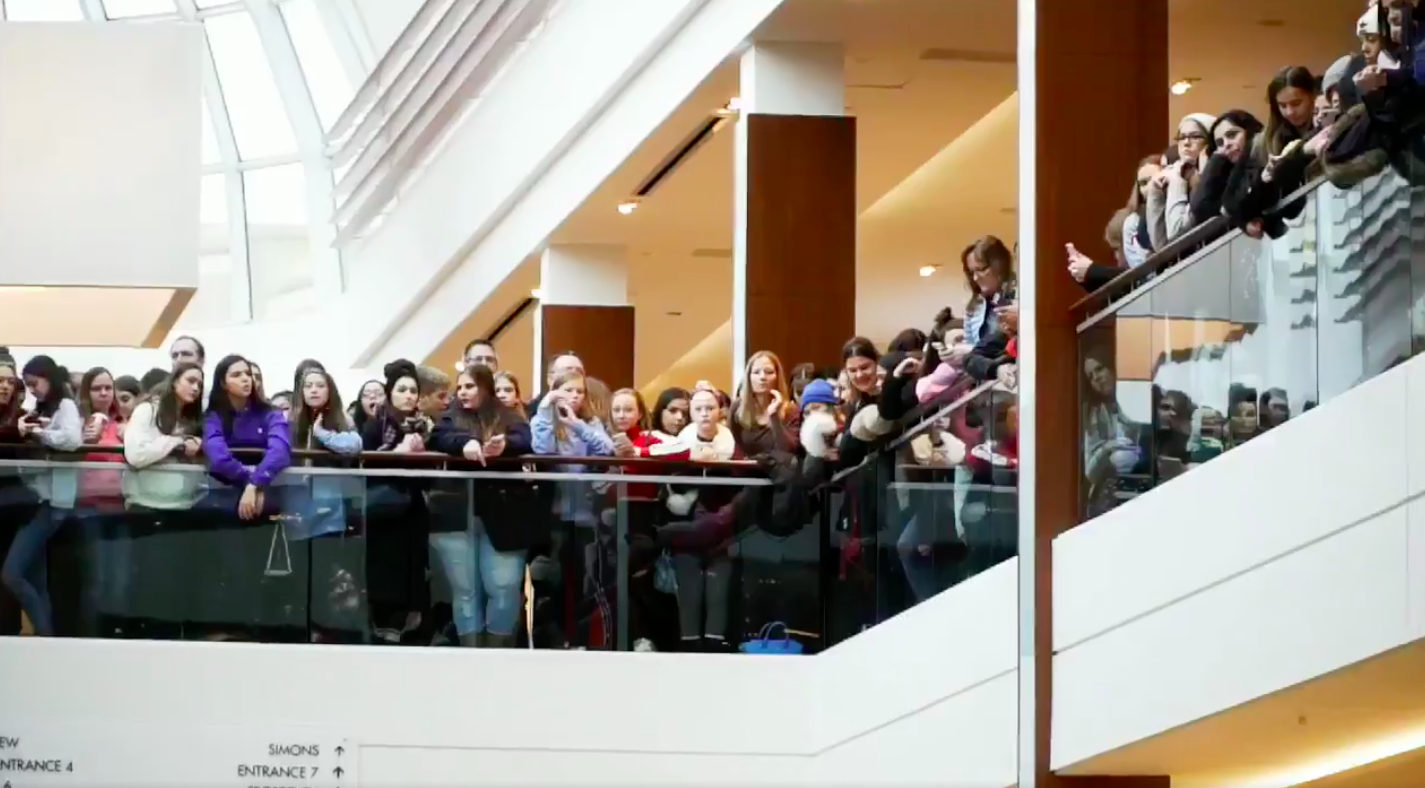 Record-breaking attendance: More than 10,000 fans Descended on Square One to see Morphe spokesperson  James Charles . He has 14.3 million Instagram followers. Photo: Square One