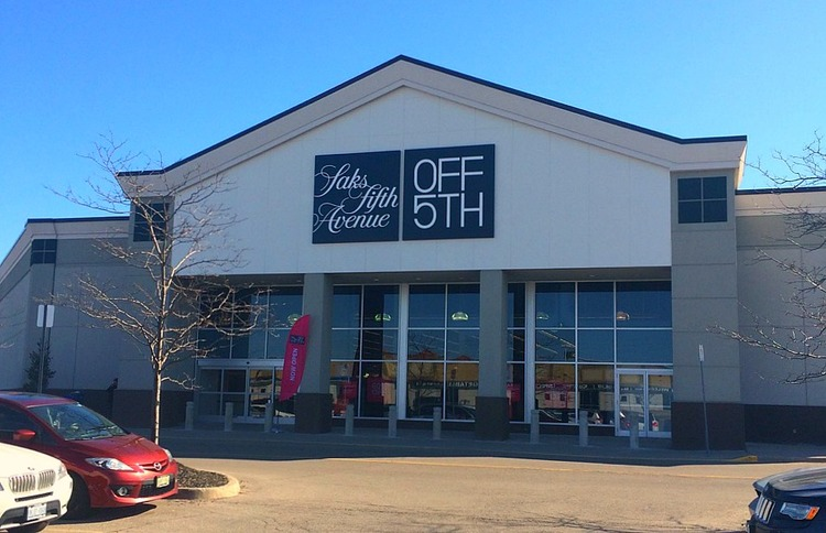 saks OFF 5TH at Vaughan Mills in suburban Toronto. Photo: Norm Katz