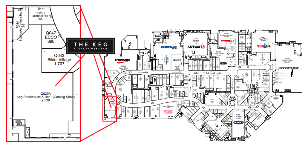 "click for interactive ""cf market mall"" map"