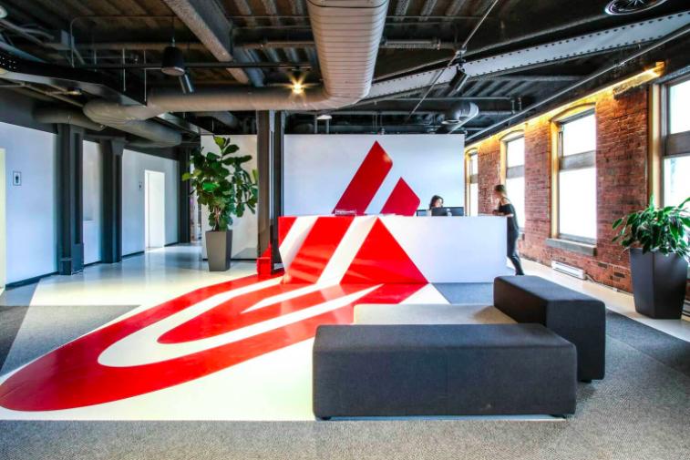 Inside Lightspeed's Montreal offices. Photo: Lightspeed