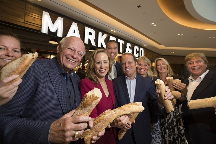 opening of market & co at upper canada mall, newmarket, ontario. Photo: Oxford Properties