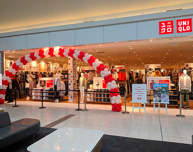 Oshawa Centre. Photo: Uniqlo