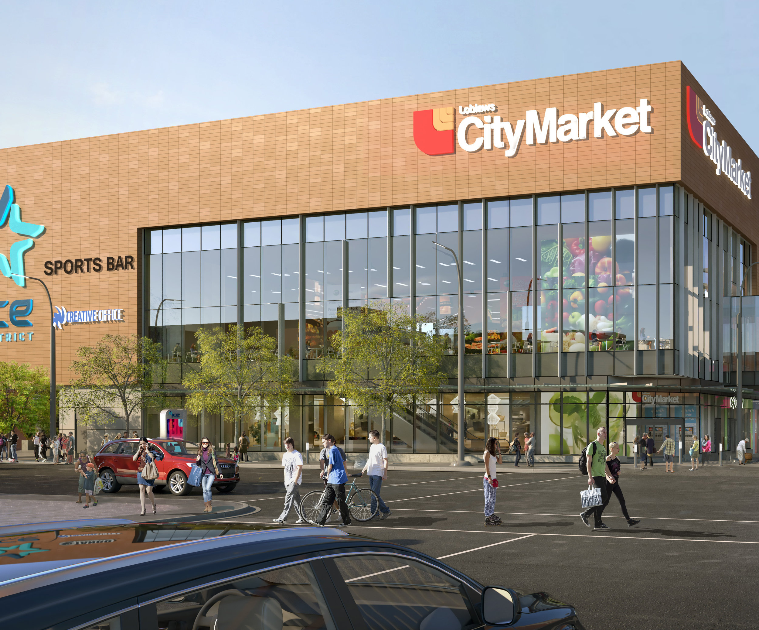 RENDERING: LOBLAWS