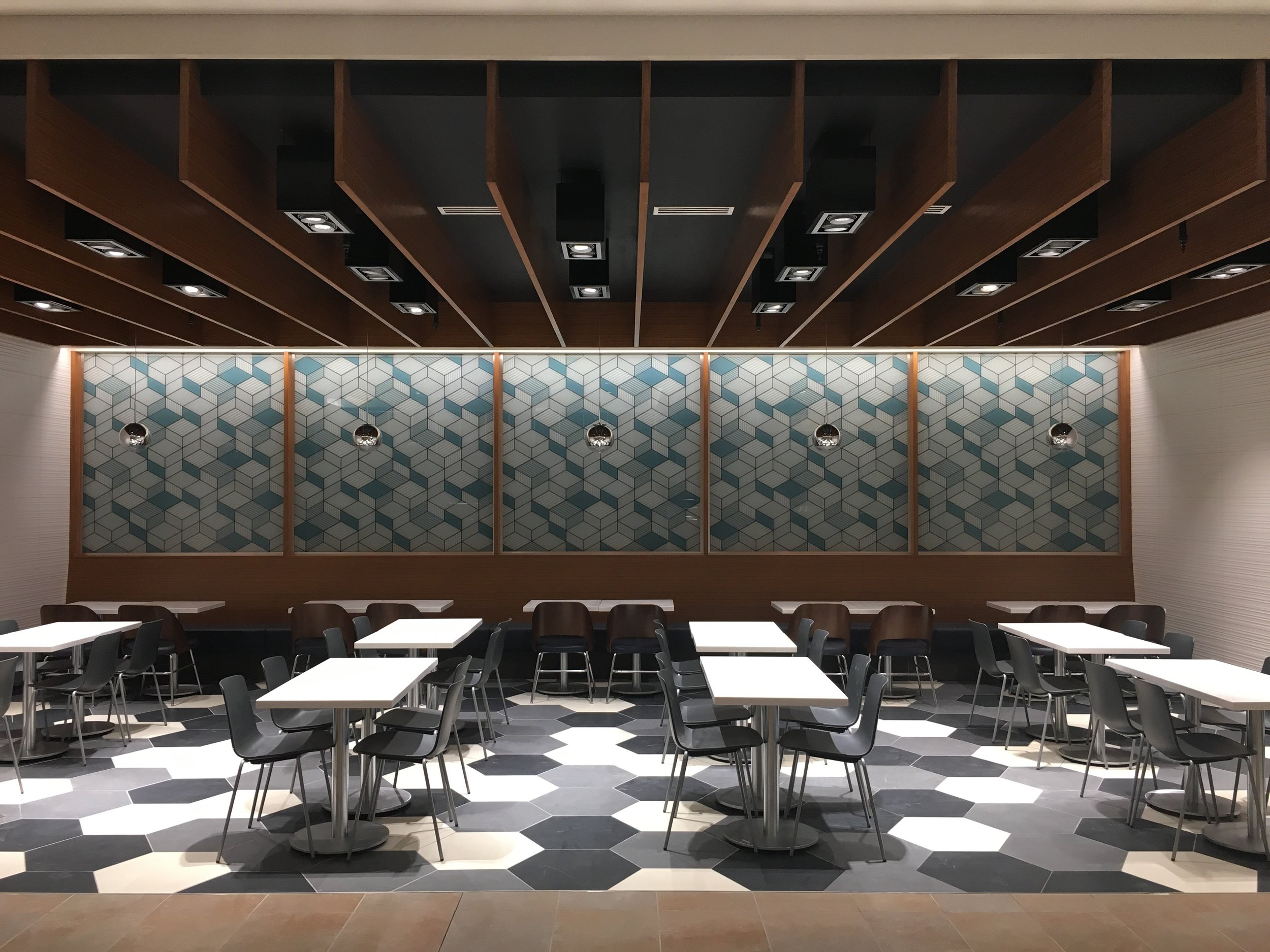 NEW $10-million CF FAIRVIEW MALL FOOD COURT. Image: CADILLAC FAIRVIEW