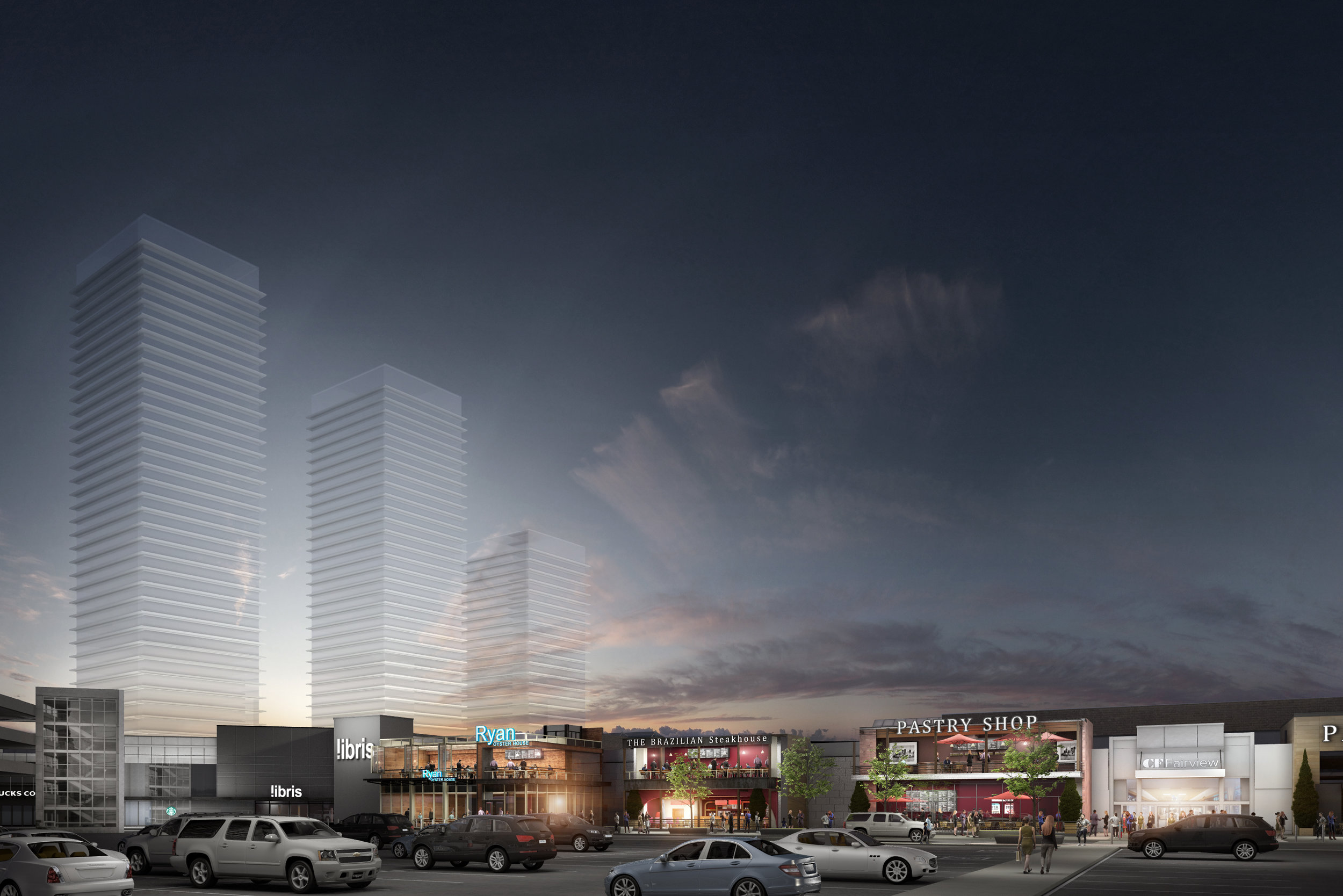 RENDERING: CADILLAC FAIRVIEW