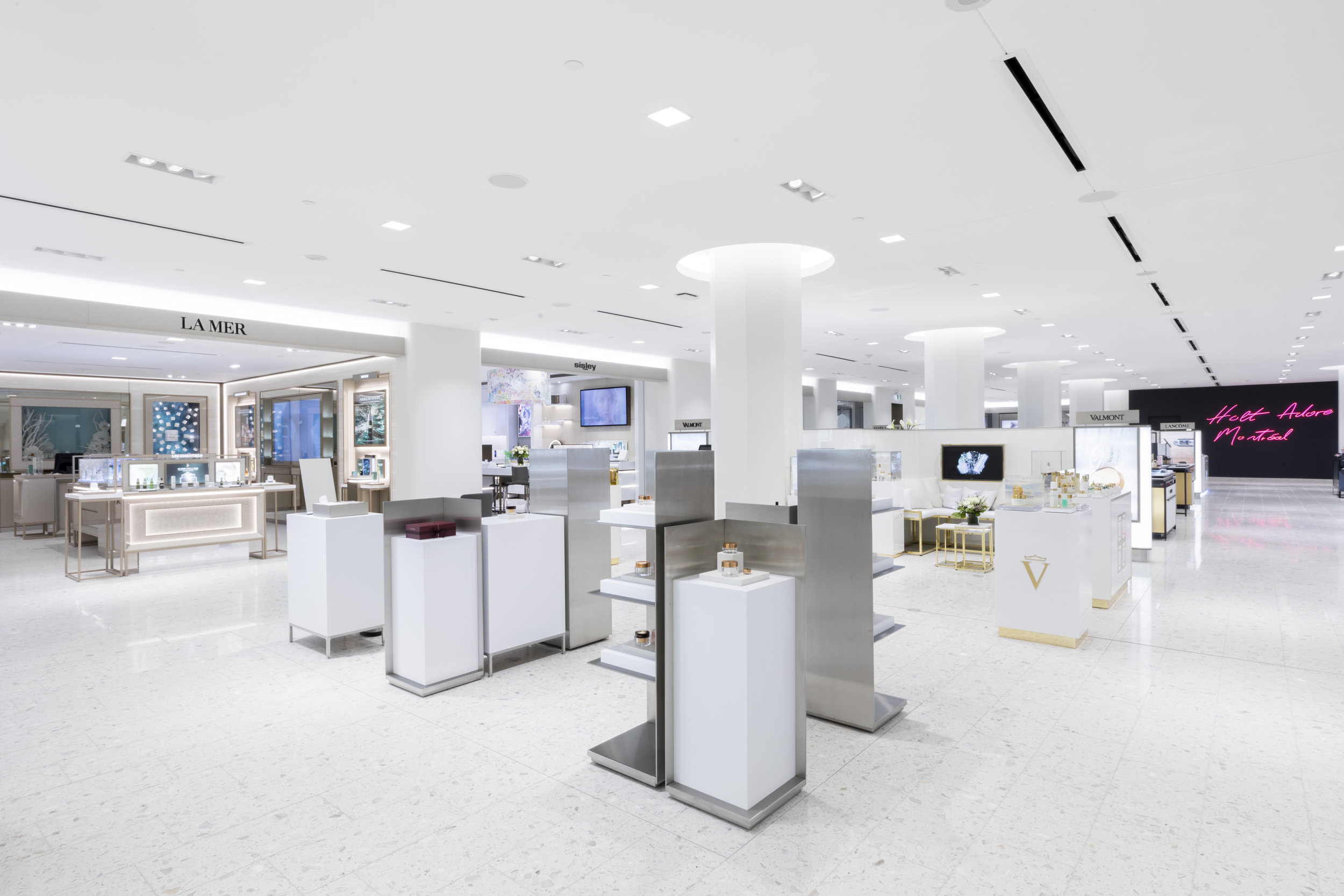New concourse-level beauty hall. PHOTO: holt renfrew ogilvy