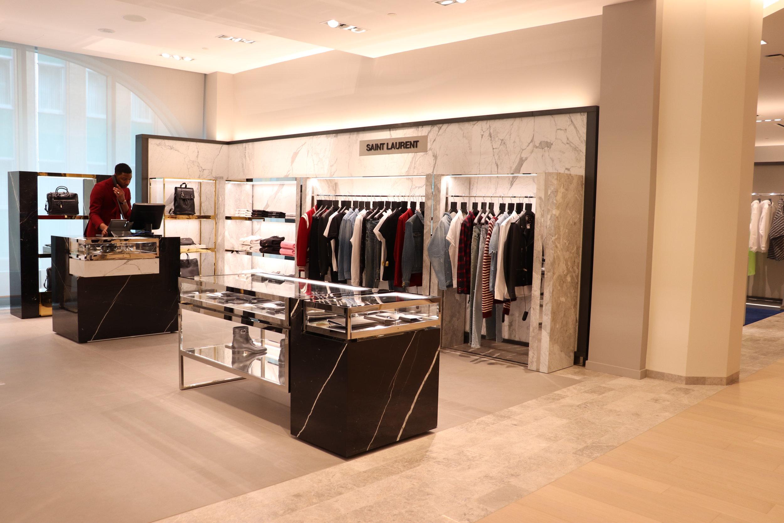 Saint Laurent boutique. Photo: Maxime Frechette