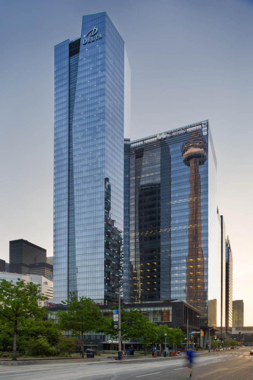 Delta hotels at 75 Lower Simcoe Street in downtown Toronto. Photo: Delta Hotel