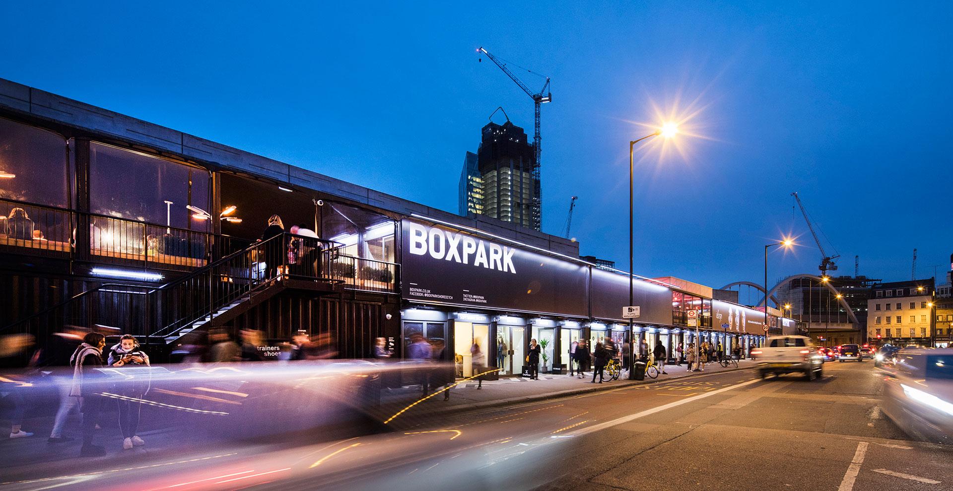 BOXPARK SHOREDITCH, LONDON VIA FACEBOOK