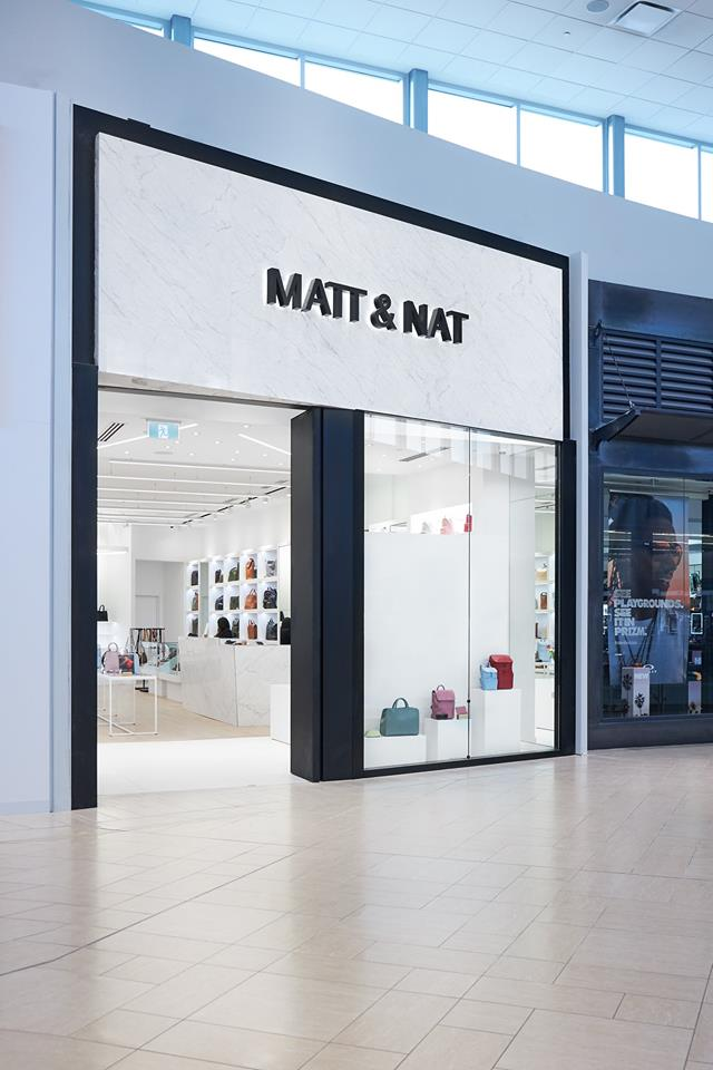 MATT & NAT BOUTIQUE AT CF CHINOOK CENTRE PHOTO VIA FACEBOOK