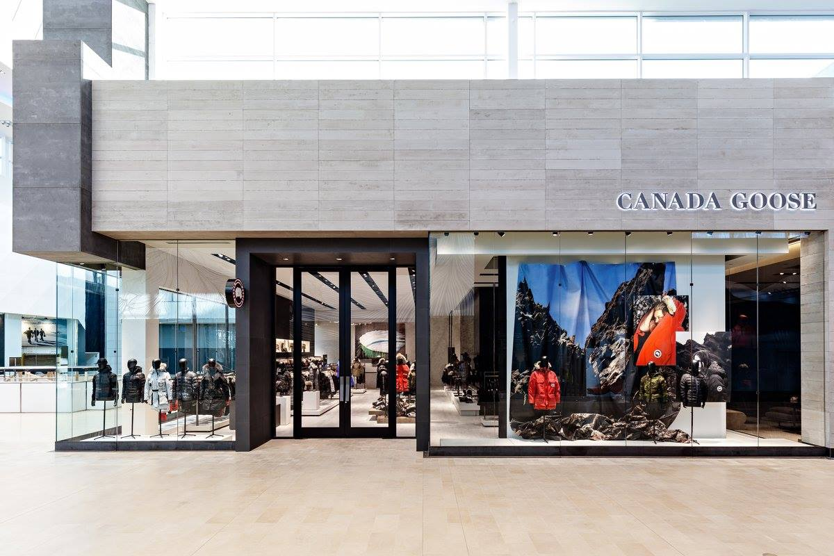 CANADA GOOSE'S YORKDALE FLAGSHIP: PHOTO VIA FACEBOOK