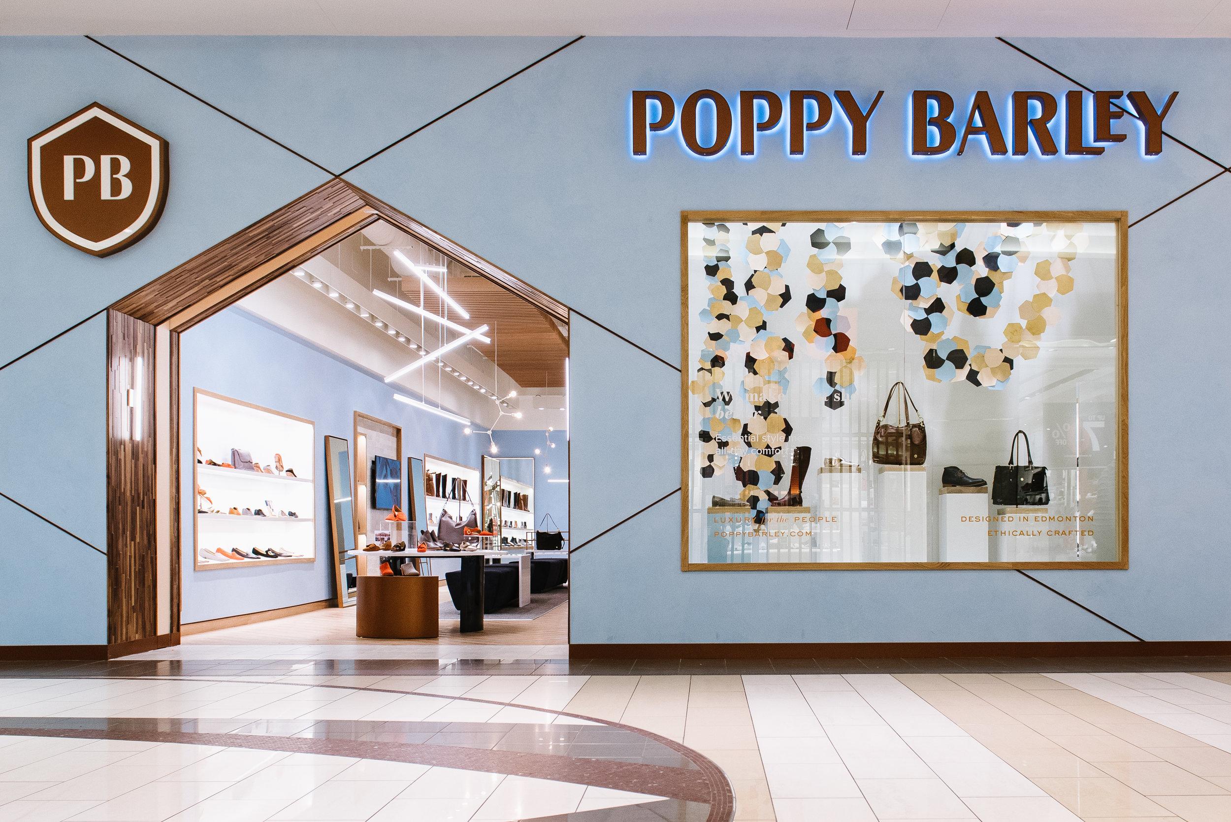 poppy barley's EDMONTON FLAGSHIP STORE PHOTO: POPPY BARLEY