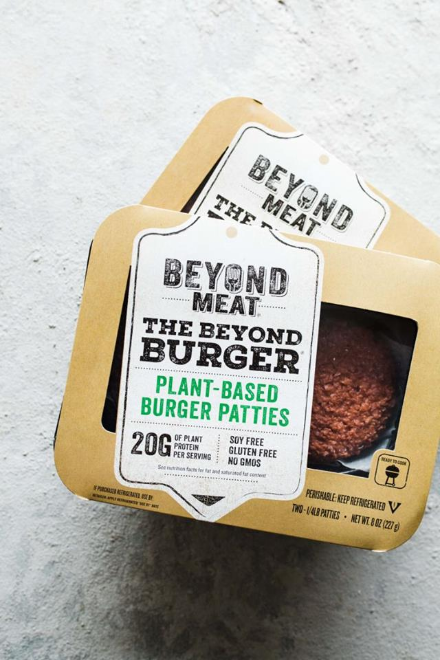 BEYOND MEAT PHOTO: VIA FACEBOOK