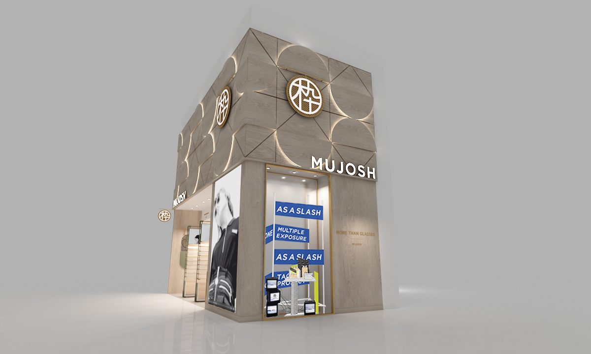 RENDERING OF MUJOSH'S YORKDALE SHOPPING CENTRE STORE: MUJOSH