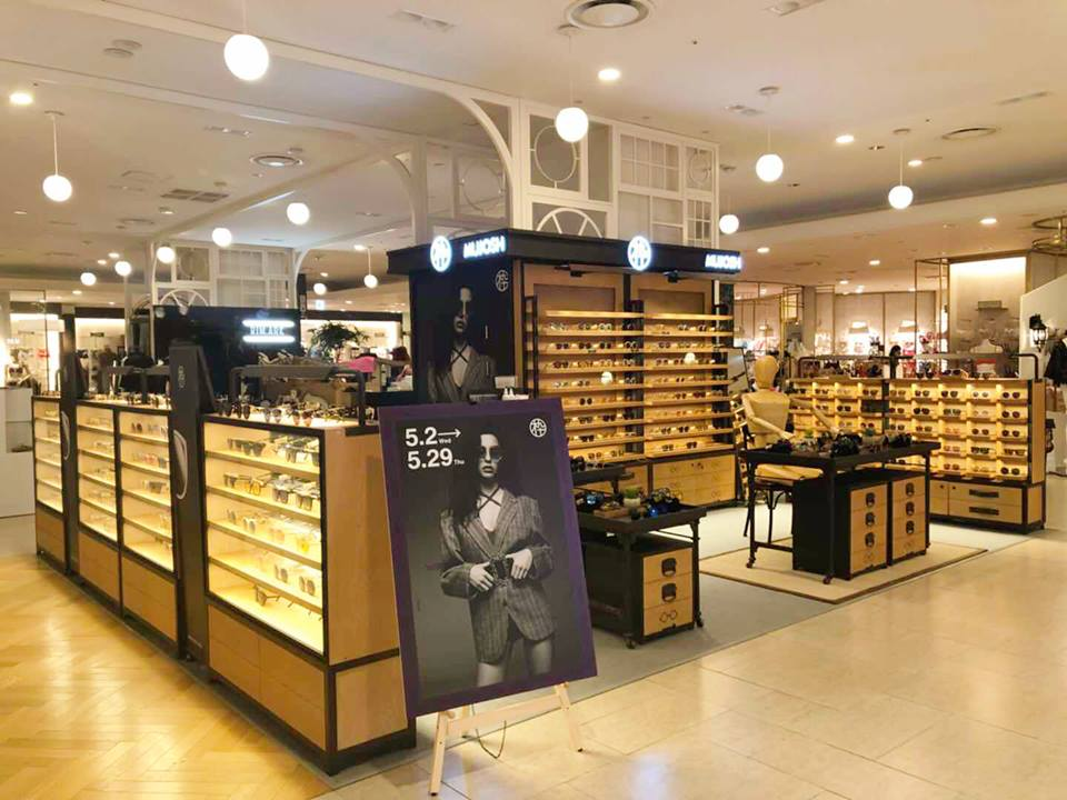 MUJOSH concession at hankyu department store in osaka, japan Photo: mujosh via facebook