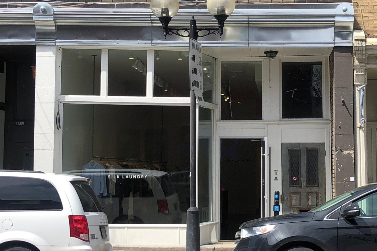 silk laundry's montreal boutique photo: maxime frechette