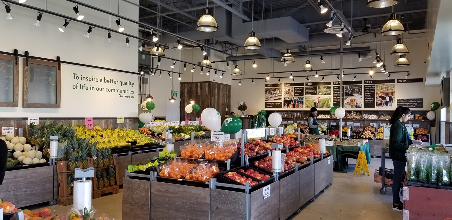 AIRWAVE SYSTEMS HAVE BUILTIN FLEXIBILITY AND CAN BE IMPLEMENTED IN STORES RANGING FROM FARMERS MARKETS AND CONVENIENCE TO LARGE SCALE ENVIRONMENTS