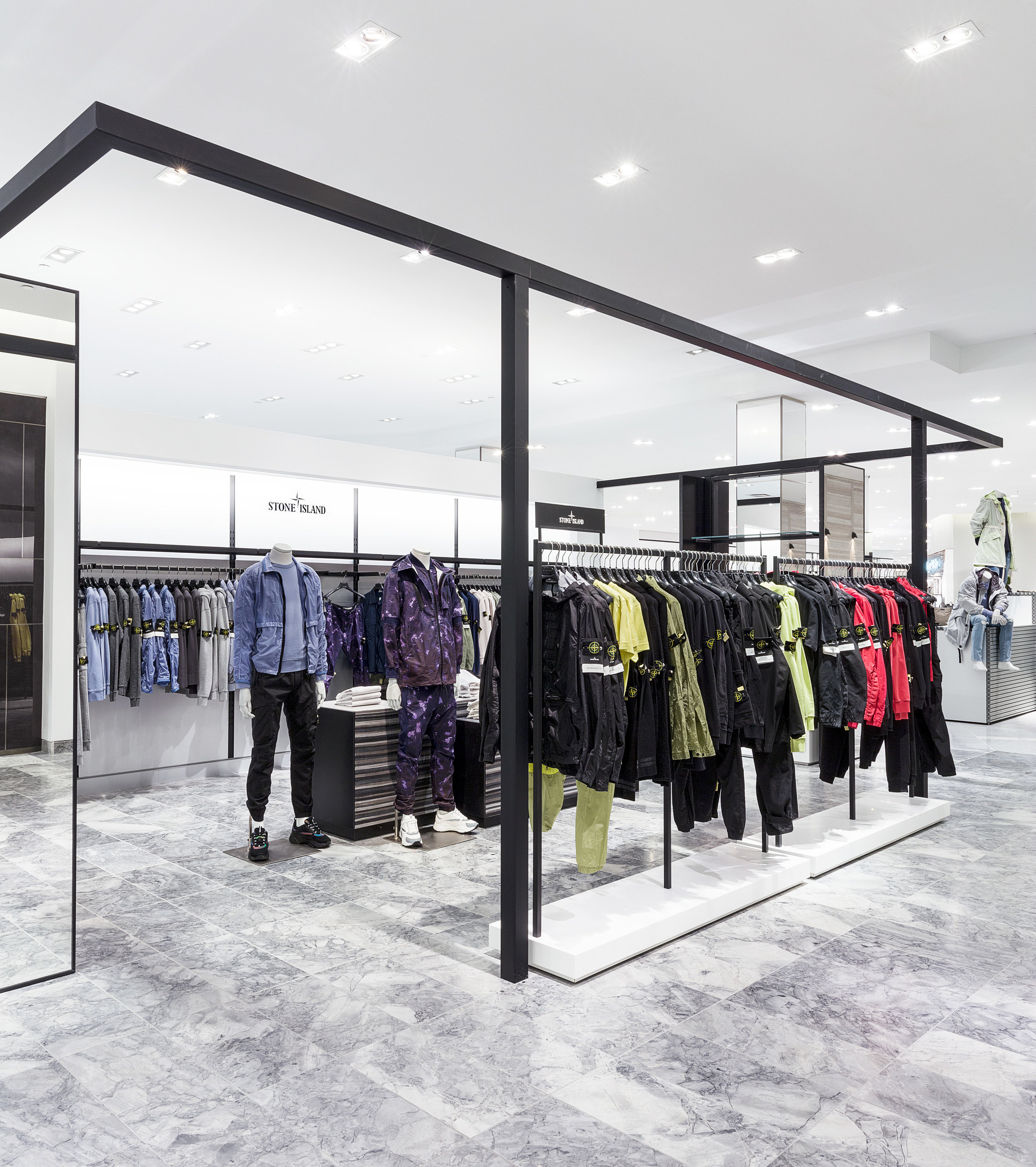 Expanded/renovated Yorkdale men's store. Photo: Holt Renfrew