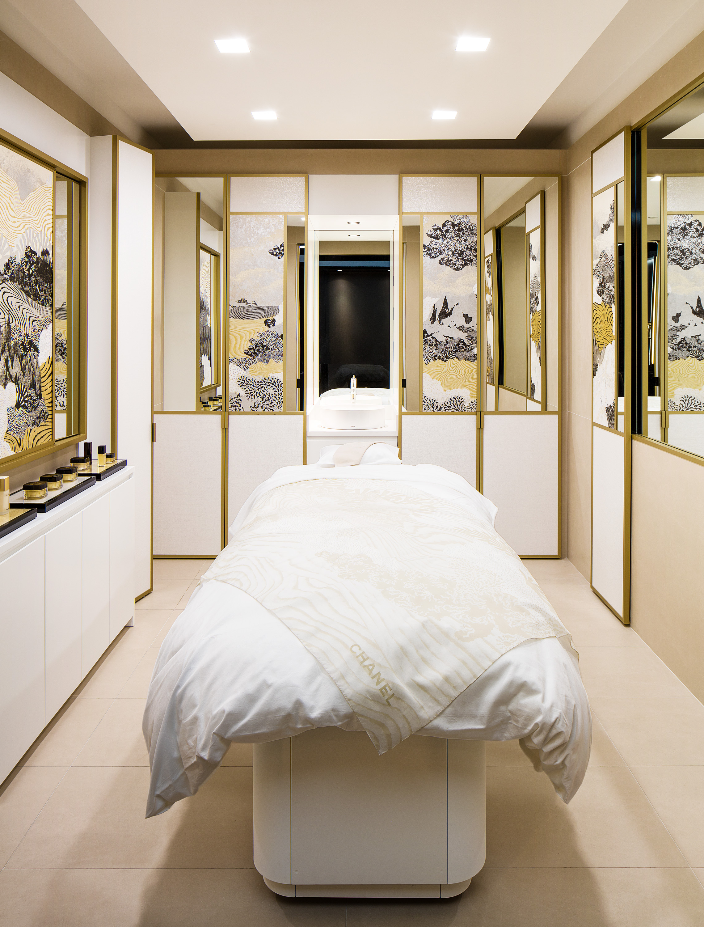 'Skincare cabine' in Toronto's new Chanel fragrance and beauty boutique. Photo: Chanel
