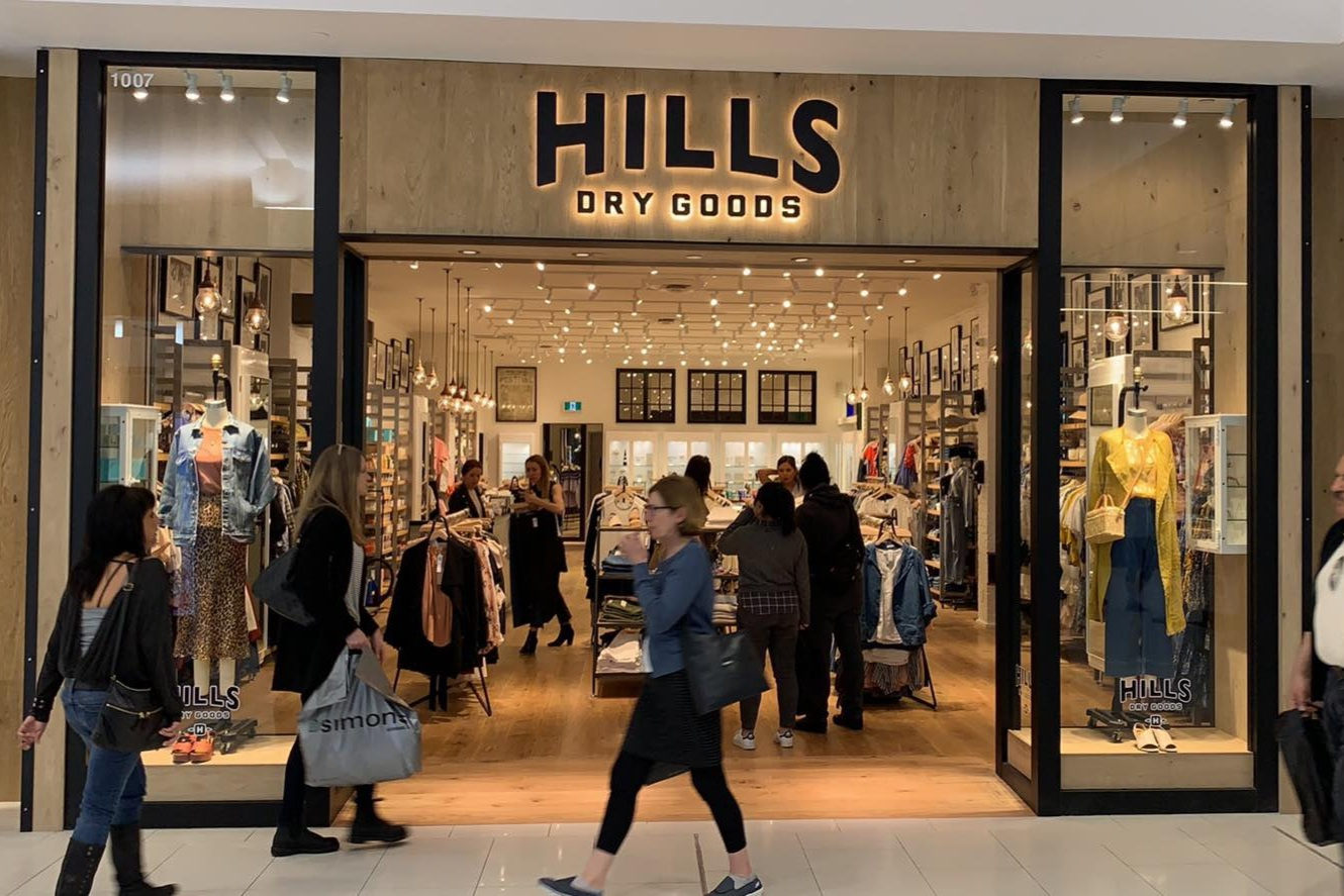 Recently opened Hills Dry Goods in Park Royal South. PHOTO: LEE RIVETT