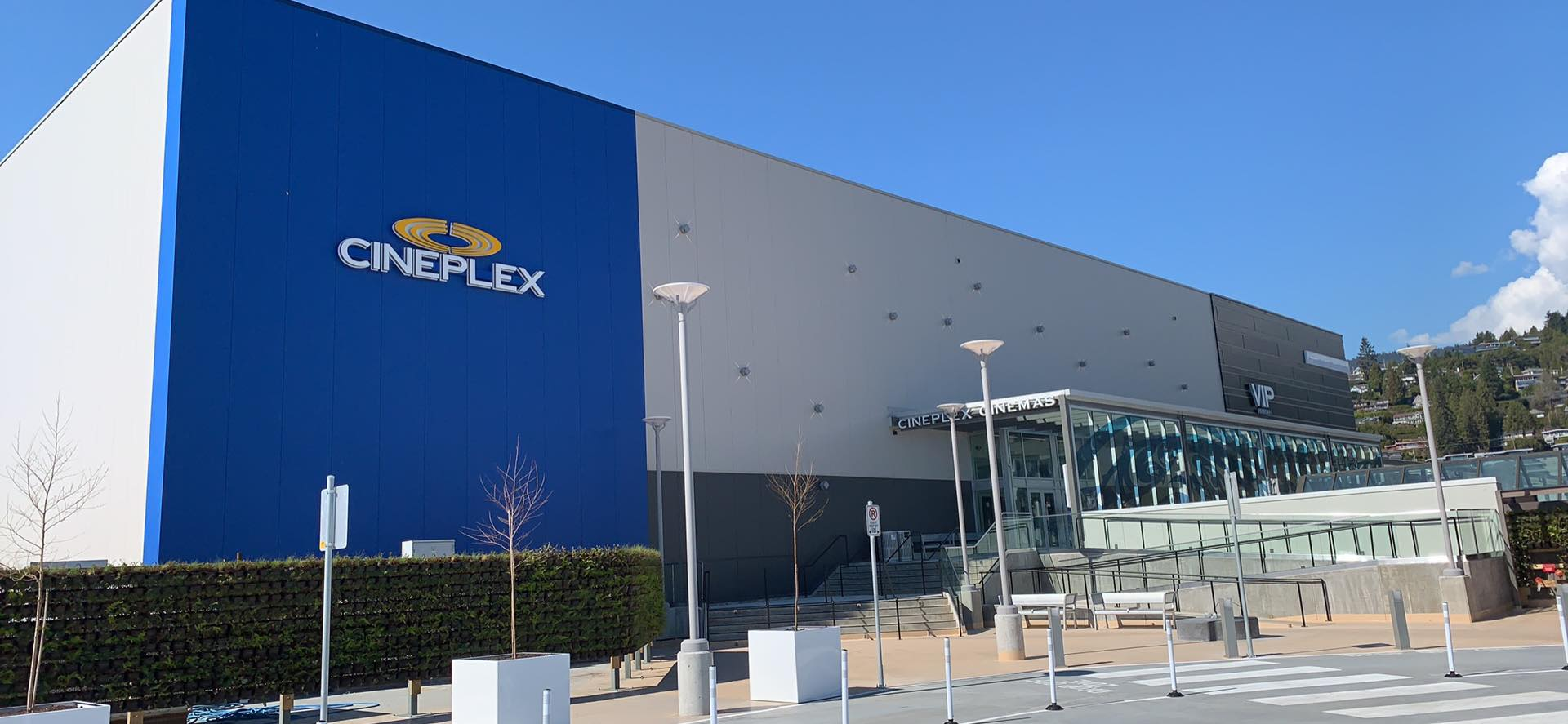 Recently opened VIP Cineplex THEATERS. PHOTO: LEE RIVETT