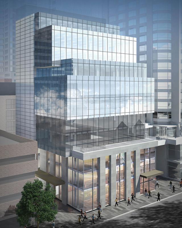 135 Yorkville Avenue rendering: cbre