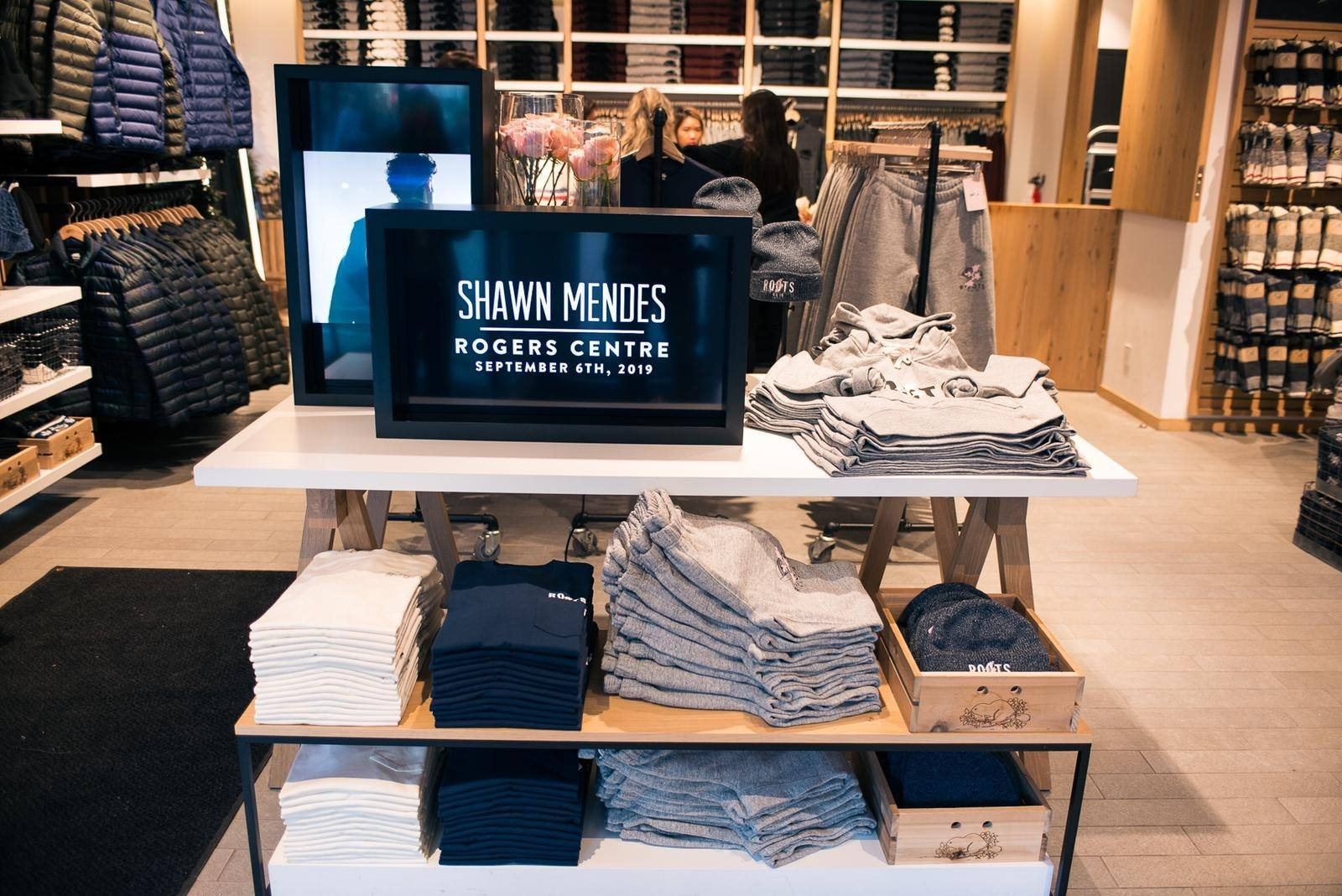 SHAWN MENDES X ROOTS COLLABORATION PHOTO: ROOTS VIA FACEBOOK
