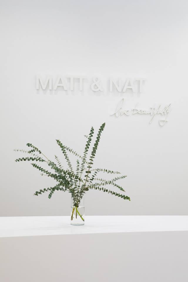 MATT & NAT'S NEW BOUTIQUE AT CF CARREFOUR LAVAL PHOTO: MATT & NAT VIA FACEBOOK