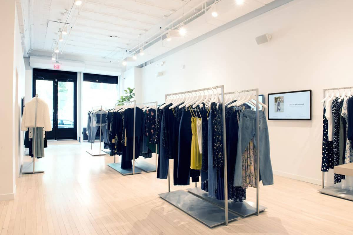 REFORMATION'S BOND STREET BOUTIQUE IN NEW YORK CITY PHOTO: REFORMATION