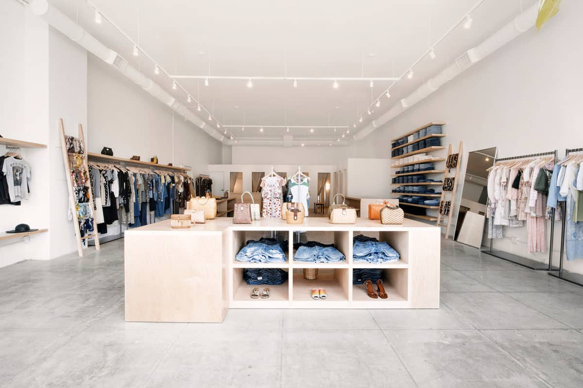 REFORMATION'S VINTAGE MELROSE BOUTIQUE IN LOS ANGELES PHOTO: REFORMATION