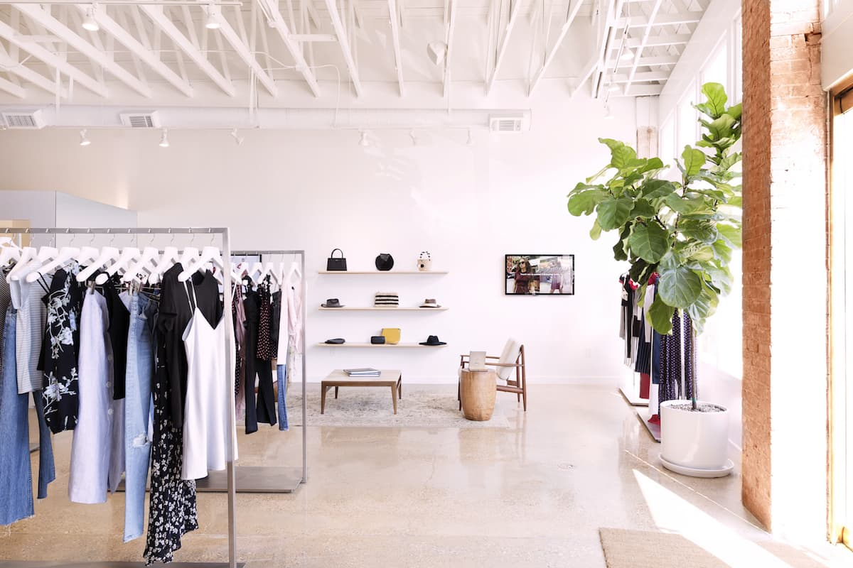 REFORMATION'S FILLMORE BOUTIQUE IN SAN FRANCISCO PHOTO: REFORMATION