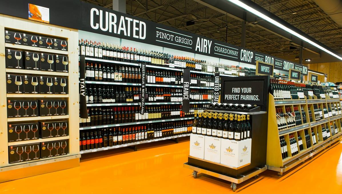 SELECTION OF WINE AVAILABLE AT LOBLAWS PHOTO: LOBLAWS VIA FACEBOOK