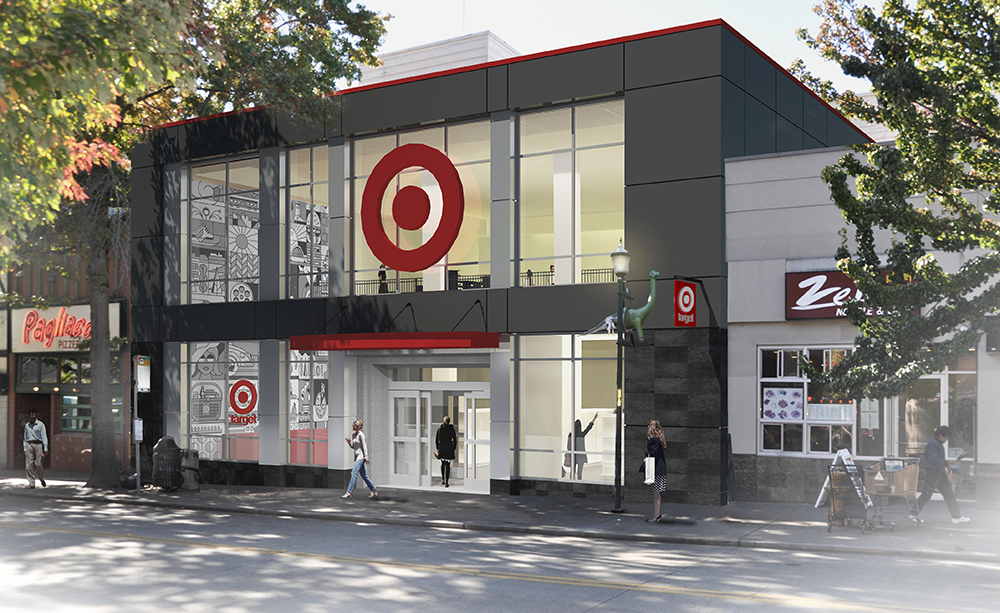 PROPOSED TARGET STORE FOR SEATTLE UNIVERSITY RENDERING: TARGET