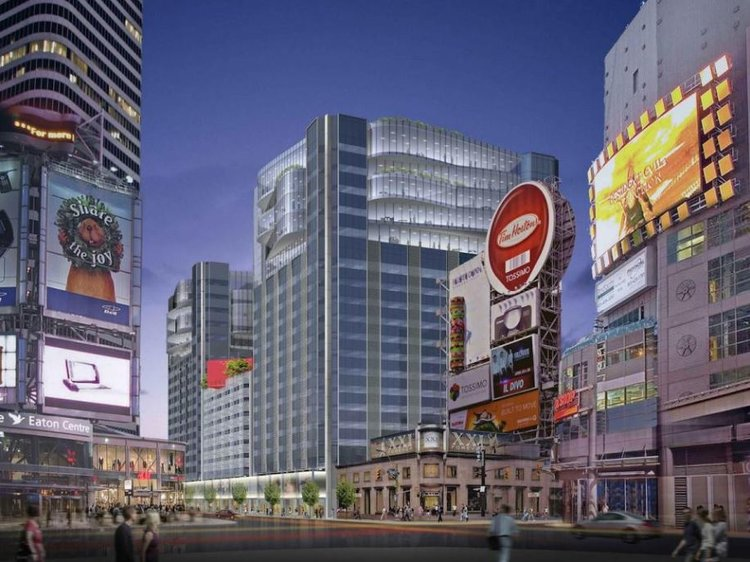 Proposed vertical expansion to Atrium Toronto. RENDERING: CITY OF TORONTO