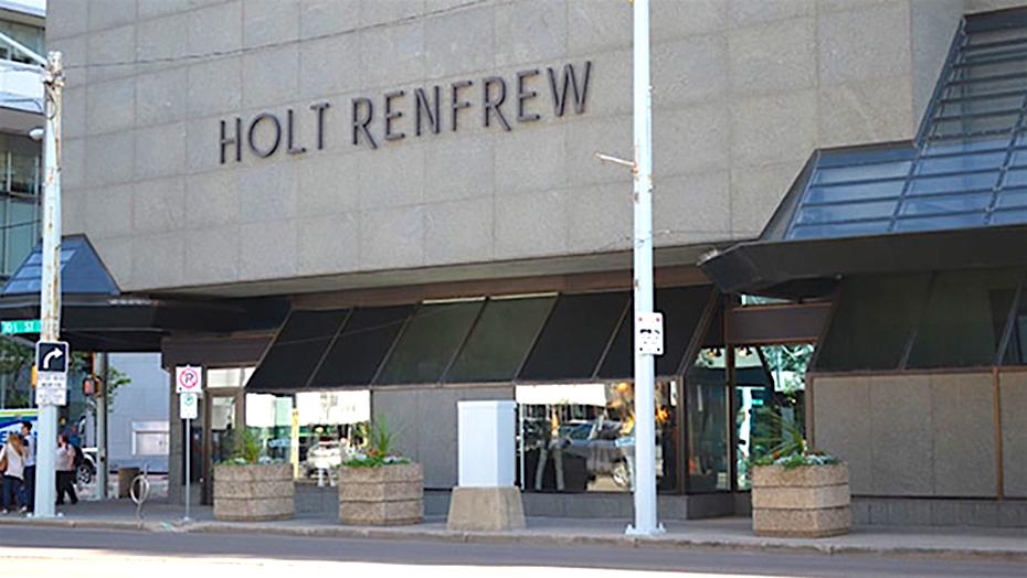 Holt Renfrew Edmonton. Photo: Holt Renfrew