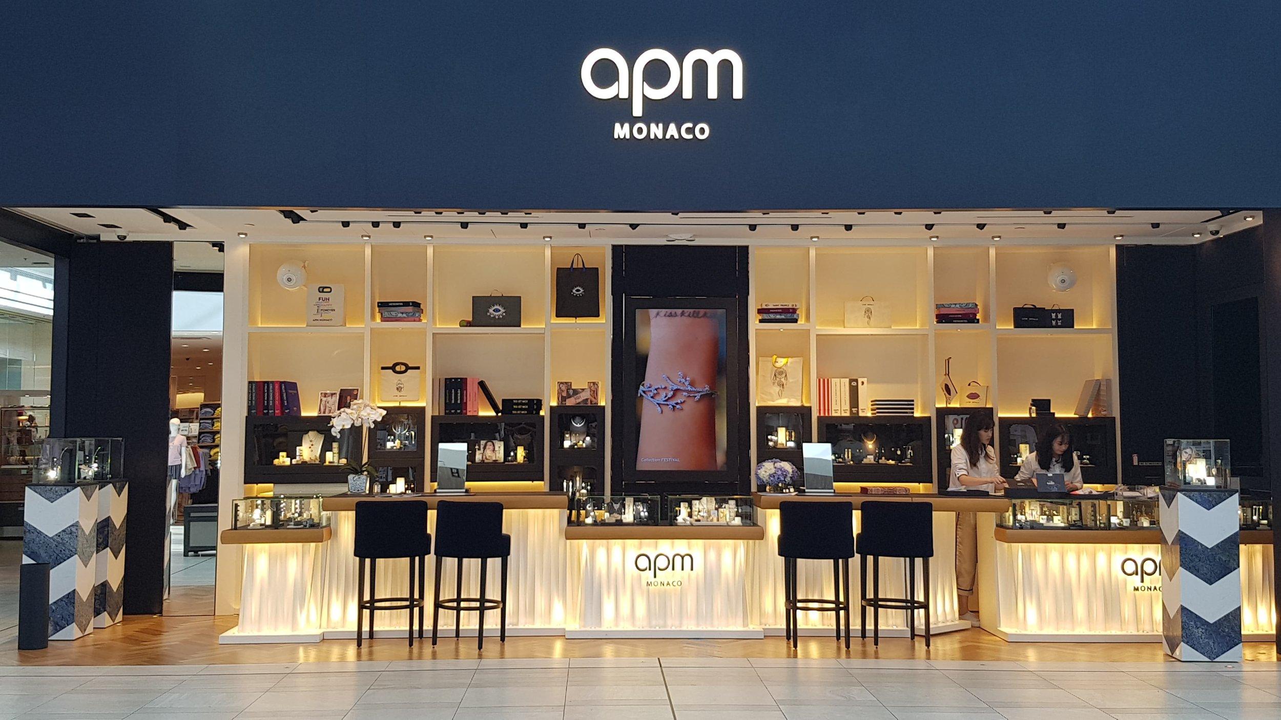 apm monaco's new cf richmond centre boutique PHOTO: ritchie po