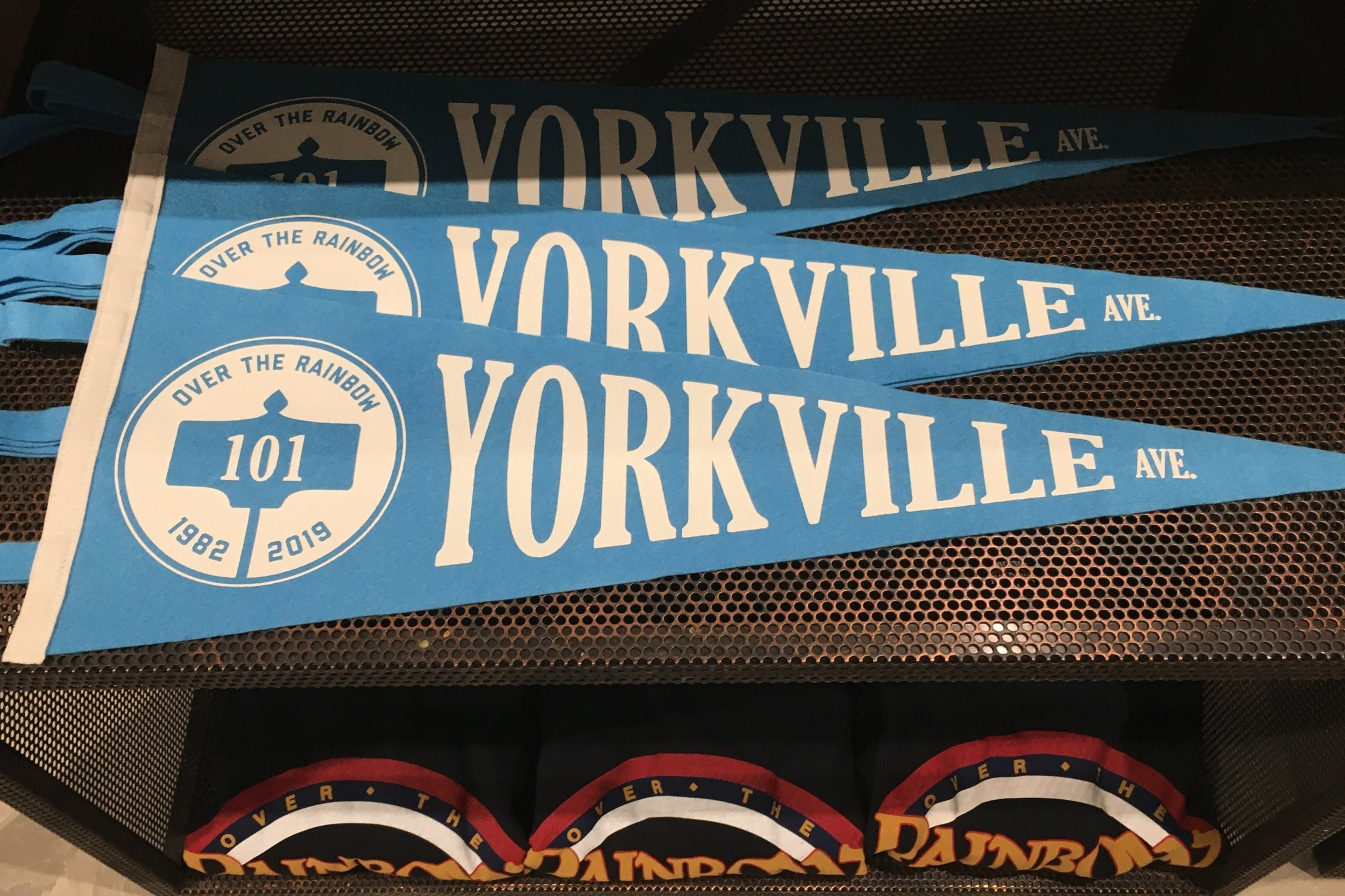 Yorkville-branded merchandise in the new store. Photo: Craig Patterson