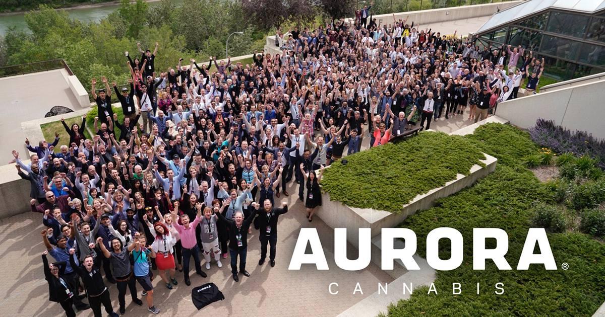 photo: aurora cannabis via facebook