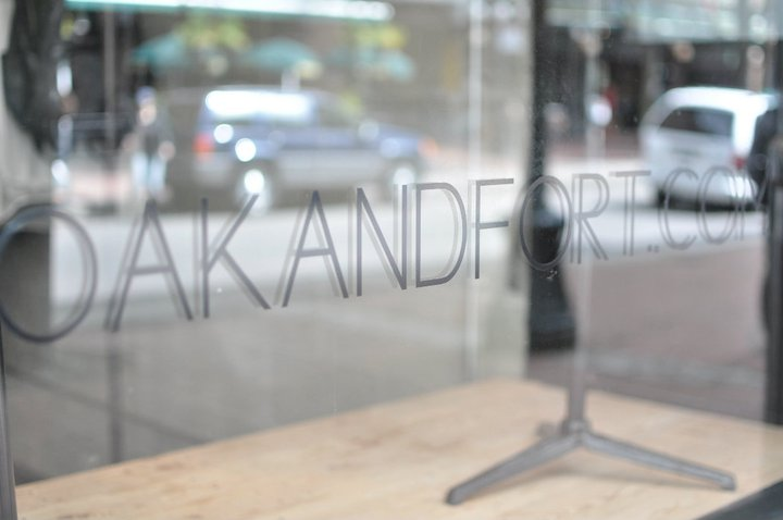 OAK + FORT'S GASTOWN STORE PHOTO: OAK + FORT VIA FACEBOOK