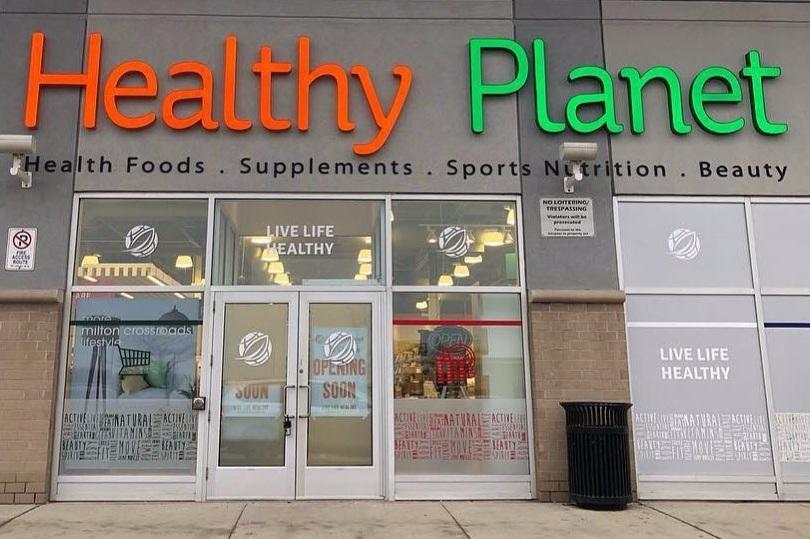 HEALTHY PLANET'S MILTON STORE IN TORONTO, ON PHOTO: HEALTHY PLANET VIA FACEBOOK