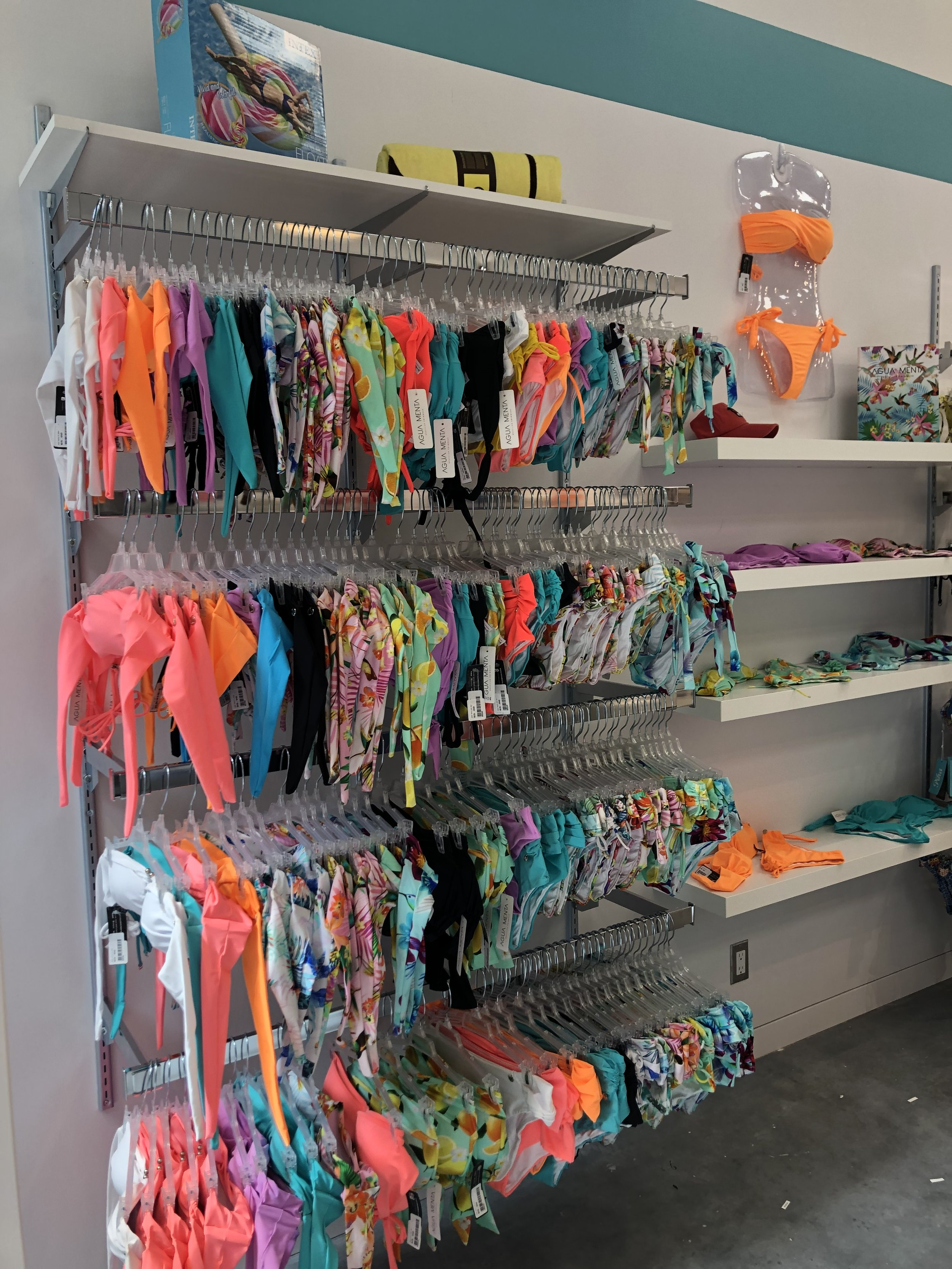 MENTA SWIMWEAR'S TSAWWASSEN MILLS POP-UP STORE PHOTO: MENTA SWIMWEAR