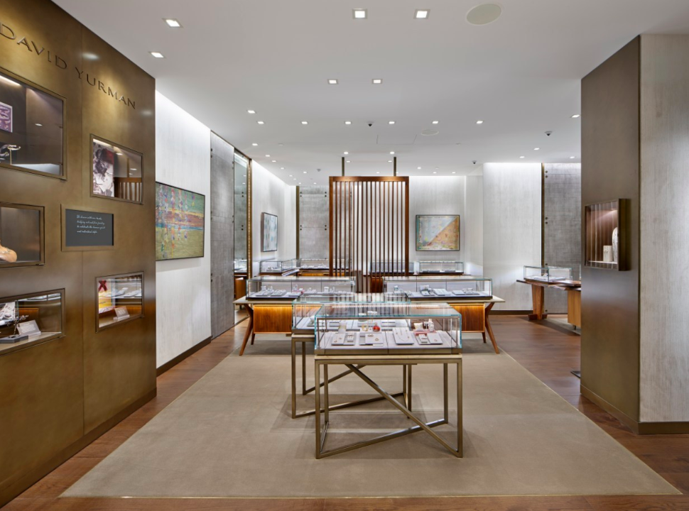 Inside the David Yurman Boutique at Holt Renfrew Ogilvy in Montreal. Photo: David Yurman