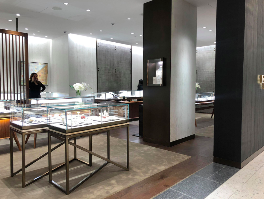 David Yurman Boutique at Holt Renfrew Ogilvy in Montreal. Photo: Maxime Frechette