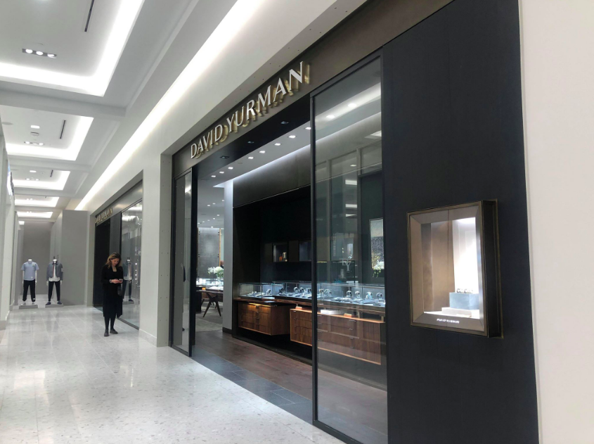Looking past the new David Yurman concession at Holt Renfrew Ogilvy in Montreal. Photo: Maxime Frechette