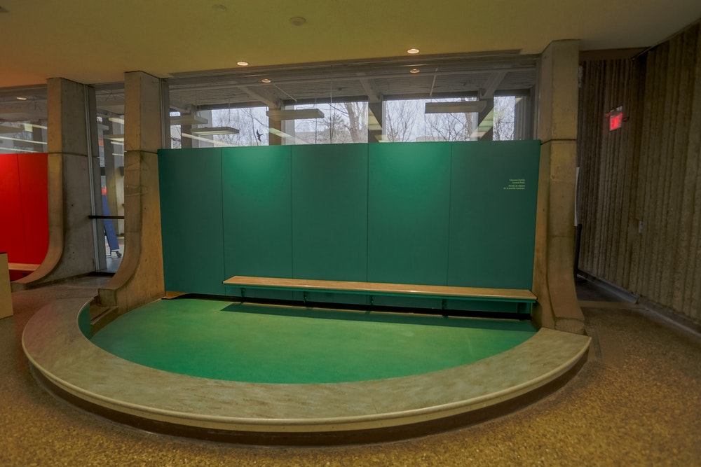 GREEN POP-UP SPACE