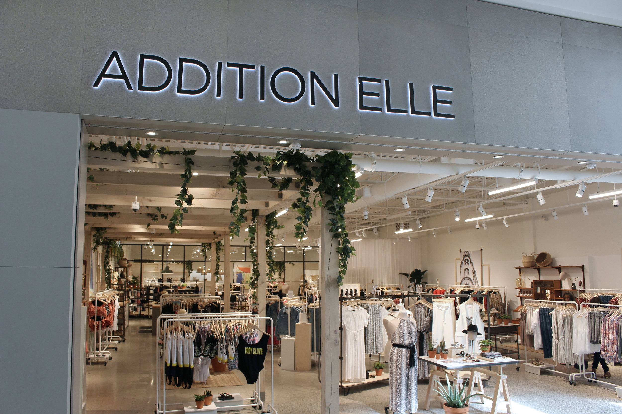 Canadian Fashion Retailer ADDITION ELLE Launches New Store